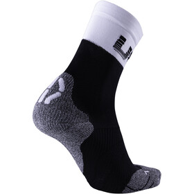 UYN Cycling Light Socks Men Black/White